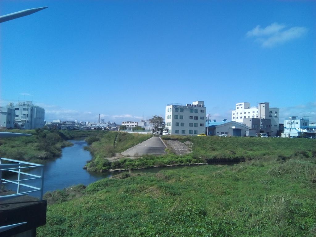 恩田川との合流地点